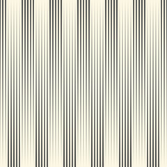Seamless Vertical Stripe Pattern. Vector Black and White Line Background