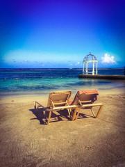Beachside Reflecting