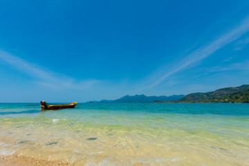 Beautiful seascape on Koh Suwan