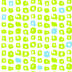 Funky Square Seamless Pattern