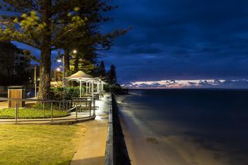 Twilight at Bulcock Beach. Queensland's Sunshine Coast, Caloundra
