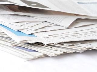 pages de journaux