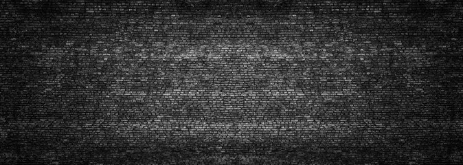 dark brick wall, texture of black stone blocks, high resolution panorama