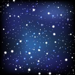 Vector night sky wallpaper