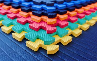 Sport mats. Sport and recreation concept