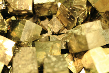 pyrite mineral background