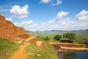 Sigiriya Sri Lanka kingdom old buddhist monastery