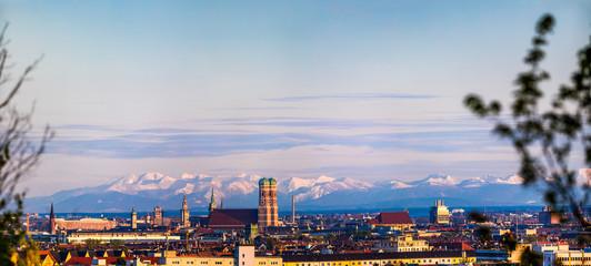 München Alpen Panorama