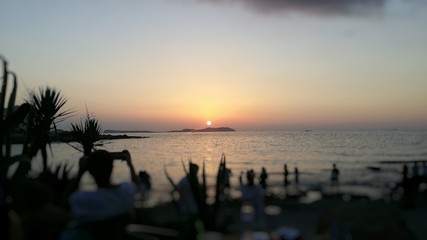 Ibiza's sunset