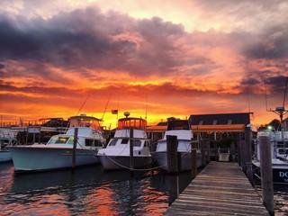 Hurricane Hermine 2016 Montauk Harbor, New York