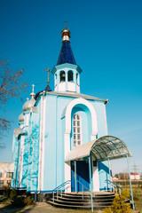 Village Krasnoe, Gomel Region, Belarus. Old Orthodox Church Of T