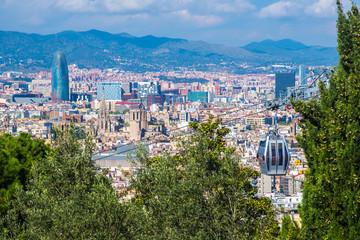 Panoramic view, Barcelona