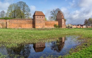 Mittelalter Loock - Wittstocker Stadtmauer an der Alten Bischofsburg