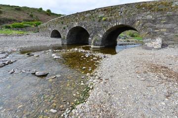A road bridge near the Hamlet of Knock in Ireland