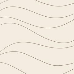 Vintage wavy pattern