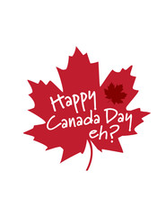 Happy Canada Day eh? maple leaf