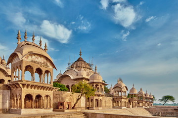 Kusum sarovar ancient abandoned temple in India UP