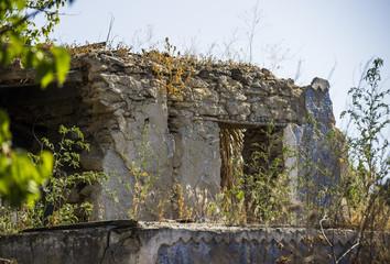 abandoned old barn