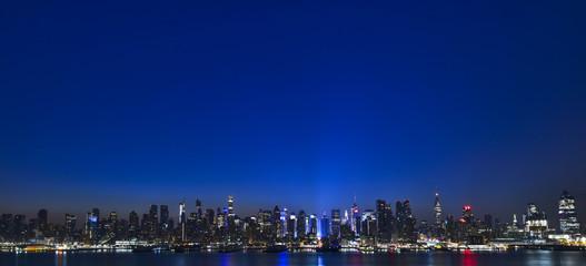 アメリカ・ニューヨークの夜明け