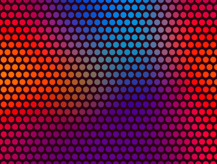 Polka Dot Pattern. Vector Background