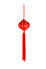 Many Chinese red paper lantern or lamp