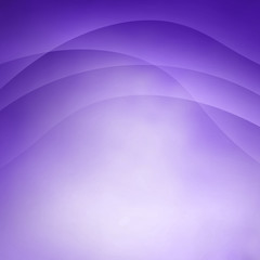 abstract purple and white background with wavy lines on top border and soft texture
