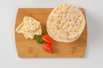 puffed rice cakes