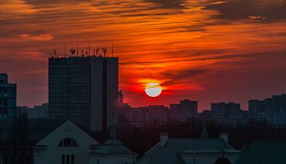 Warsaw Sunset II
