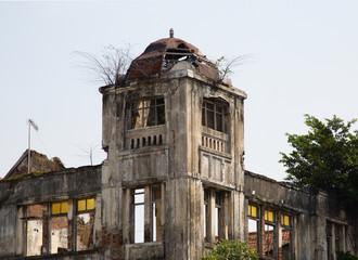 Dutch historic colonial building in Kota, Jakarta  .