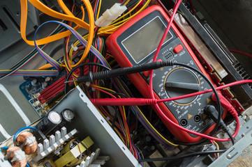 PC power supply repair - Buy this stock photo and explore similar ...