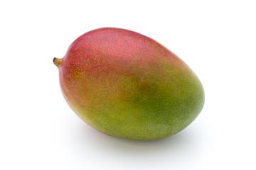 Mango fruit isolated on white background .