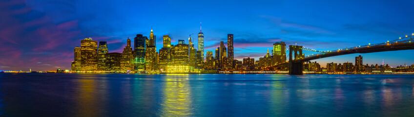Blaue Stunde in New York