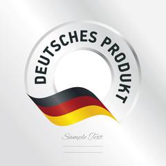 German Product (German language - Deutsches Produkt)