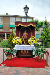 Altar San Isidro para el Corpus Christi