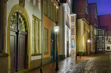 Minden Altstadt Nacht