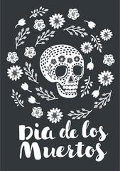 Mexican shugar skull