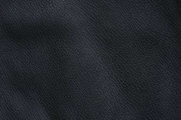 Black Deerskin as napa leather