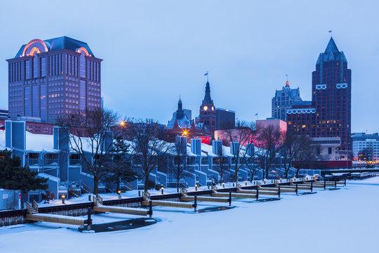 Milwaukee winter time