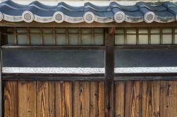 日本家屋 外壁