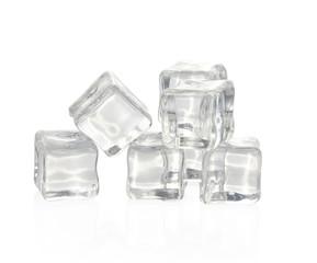 ice cube Isolated on white background