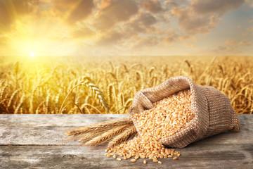 Fototapeta still life bulgur wheat obraz