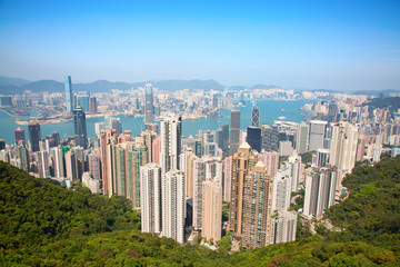 Hong Kong. View from the Peak