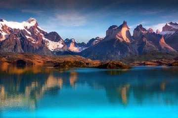 patagonia, mountains, hills,