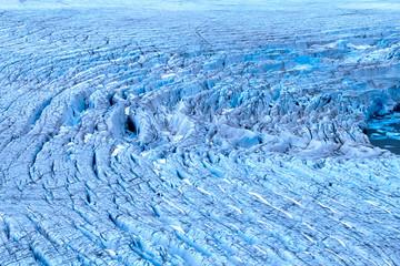 Poster Glaciers Harsh glaciers of Arctic. Live glacier