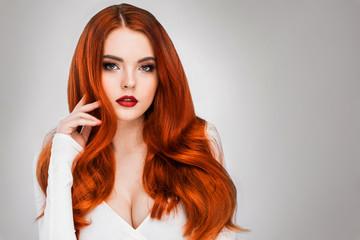 Gorgeous redhead girl