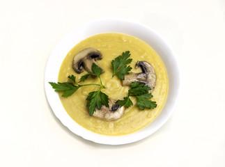 Cream pea soup