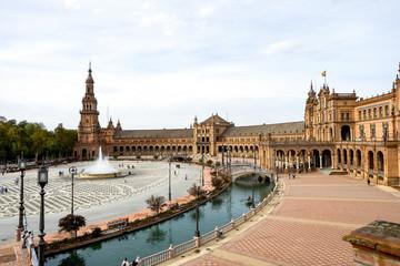 Spanien - Andalusien - Sevilla - Plaza de Espana