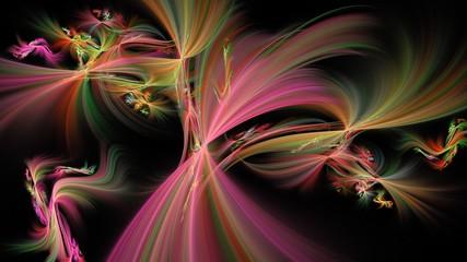 Abstrakter Hintergrund - Bunte Fantasie