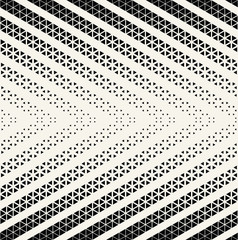 abstract triangle minimal geometric pattern halftone background