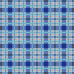 Tartan seamless pattern. Texture and backgrounds. Vector and illustration.